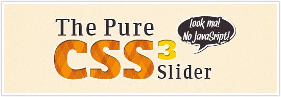 CSS Slider