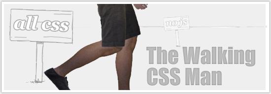 CSS Animation - Walking Man