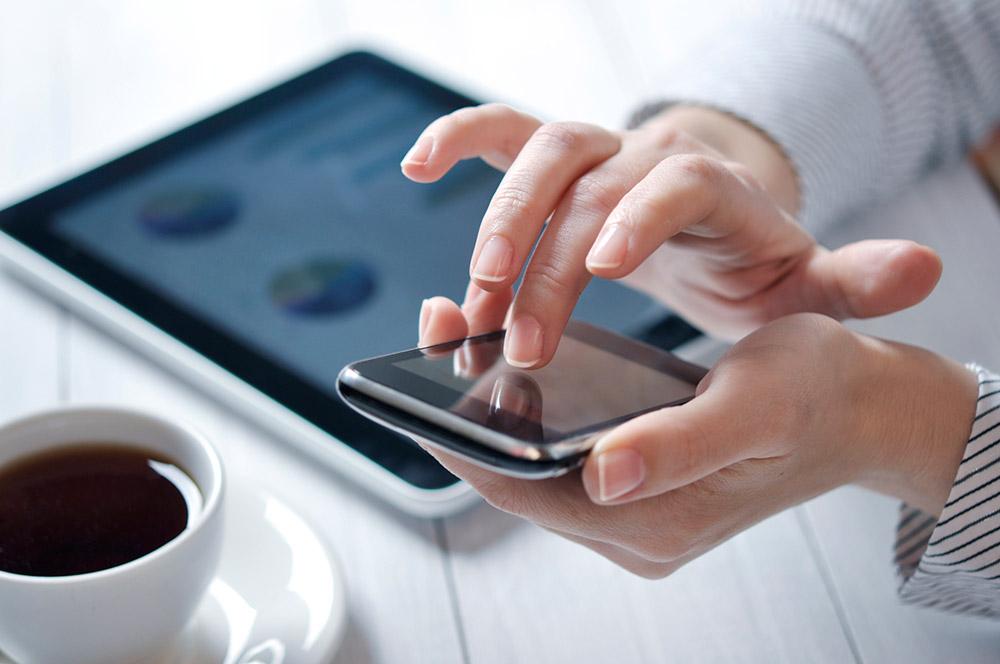 Mobile Business Website