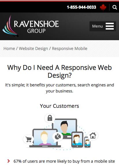 Ravenshoe Responsive Web
