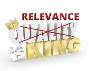 Relevance is King