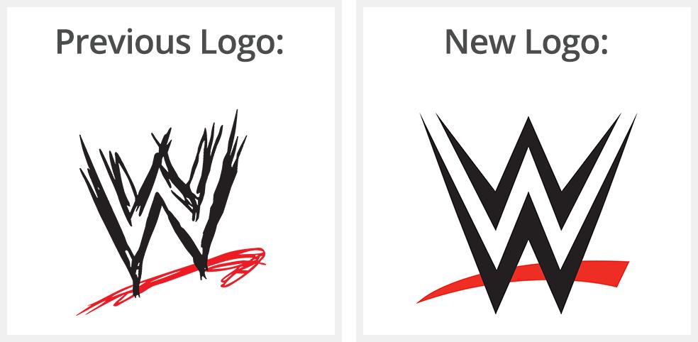 WWE logo rebrand