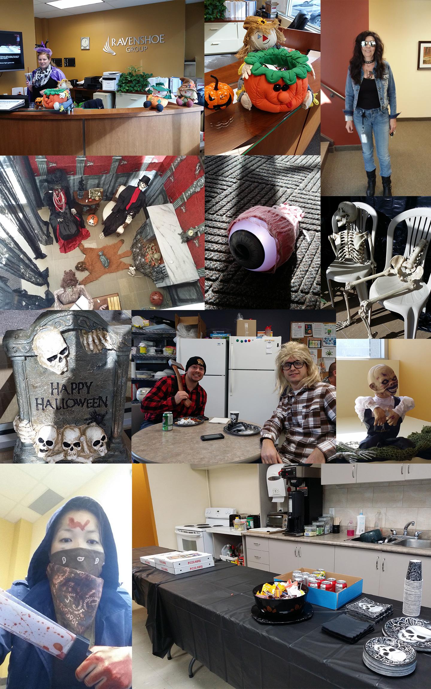 Ravenshoe Halloween Collage 2015