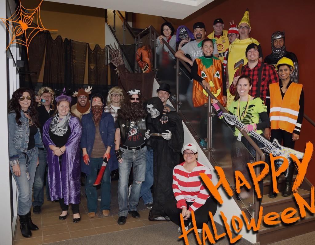 Ravenshoe Group Halloween 2015