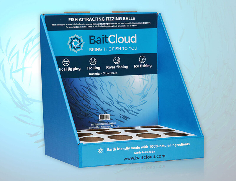 Baitcloud POP Counter Display