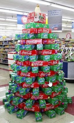 Coke Seasonal POP display