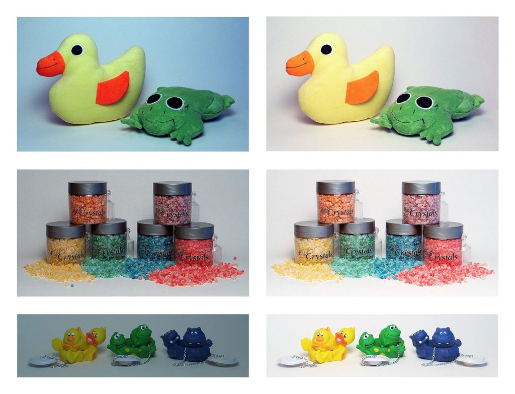 Product Photography Color Correct